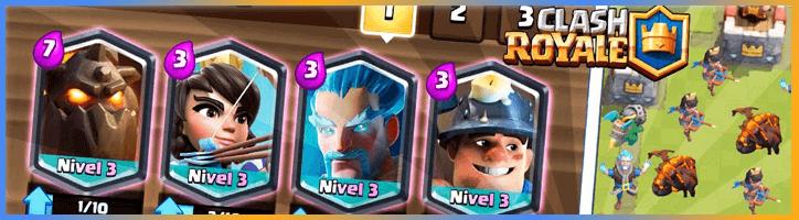 ¿Cómo conseguir legendarias en Clash Royale?