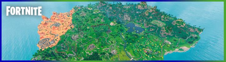 Guía del mapa Fortnite para completar todos los desafíos